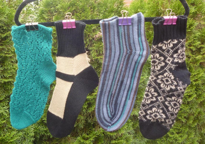 Socken, Socken, Socken für Brother / Empisal / Silver Reed Strickmaschinen