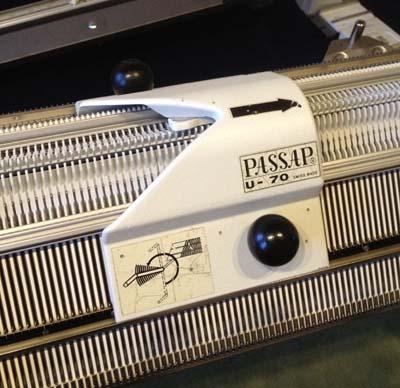 Umhängeschlitten U70 für Passap / Pfaff Strickmaschinen