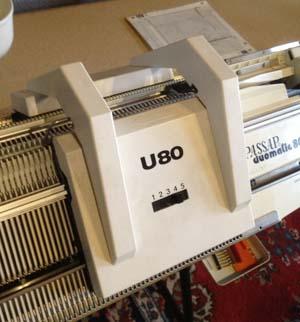 Umhängeschlitten U 80 für Pfaff / Passap Strickmaschinen